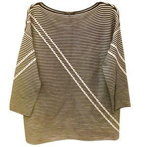 NWOT Lafayette 148 Top/Sweater Sz L